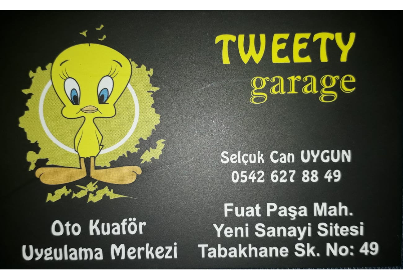Tweety Garage – Oto Kuaför